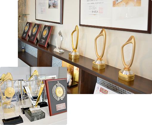 デザインアワード多数受賞