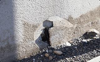 紀陽の耐震診断 基礎・コンクリートの調査